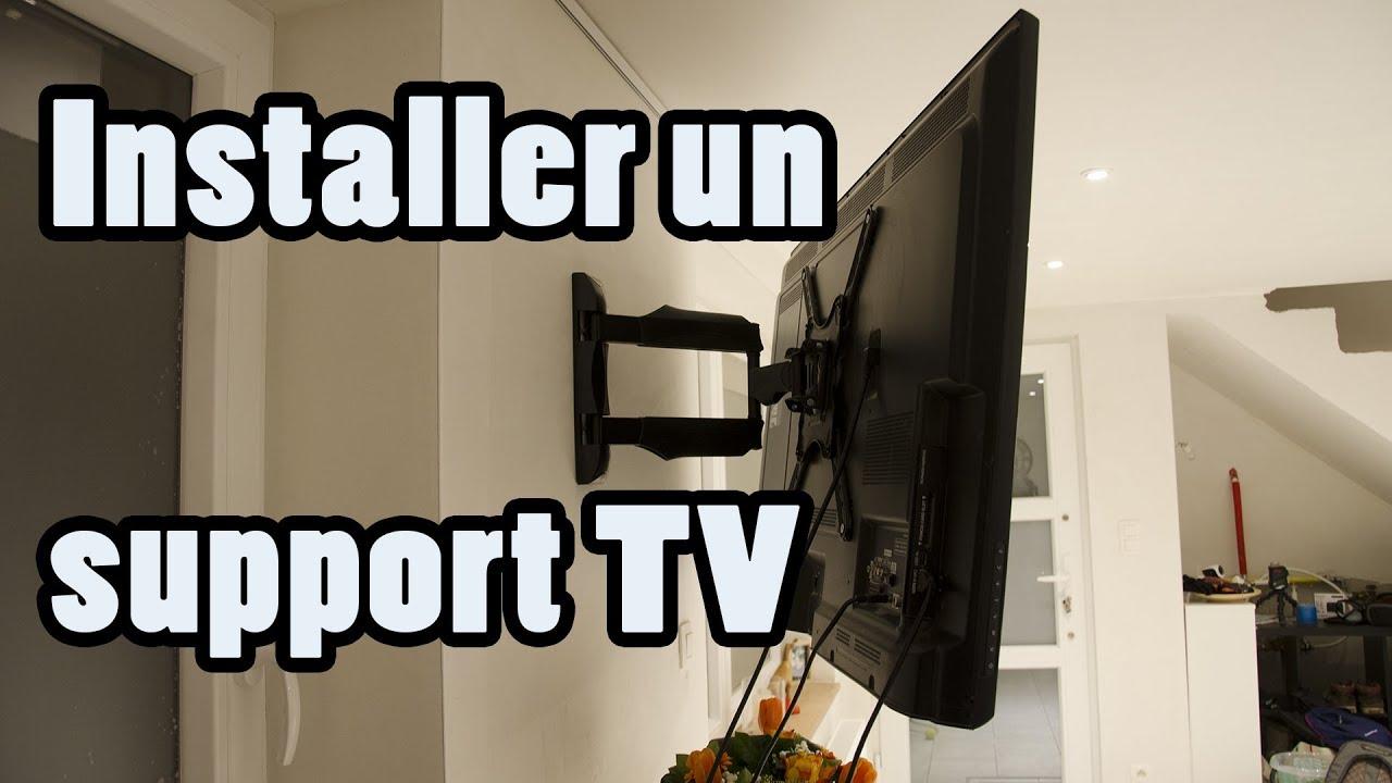Support Mural Tv écran Plat Présentation Et Installation