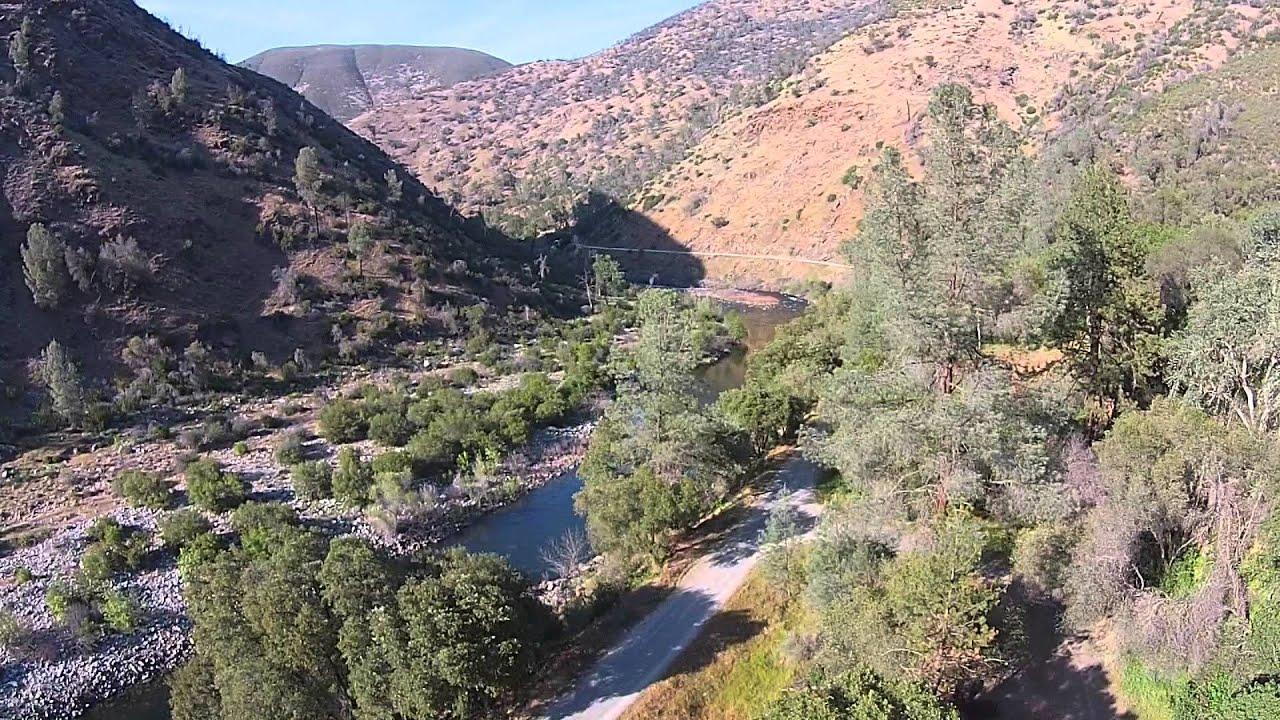 yosemite bug rustic mountain resort, california usa uas aka drone