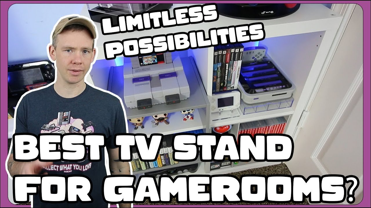 Kallax The Best TV stand for game collections !! ( and Best inserts for games / consoles)