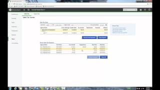 Sales Tax Tracking in QuickBooks Online