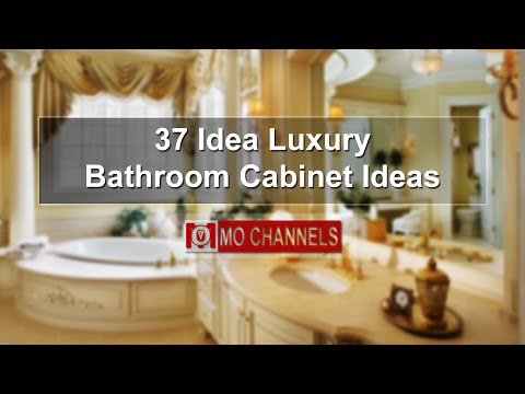 37 Idea Luxury Bathroom Cabinet Ideas
