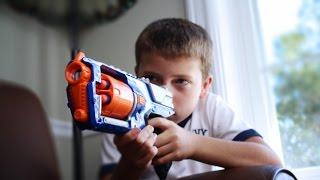 Nerf War: Siblings Vs Siblings