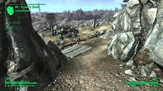 Fallout 3 Exiting the Vault, onward to Megaton