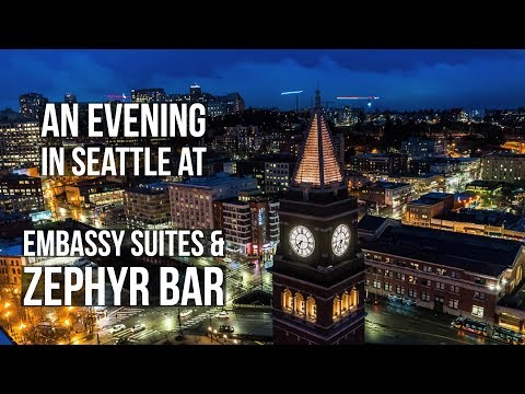 An Evening in Seattle at Embassy Suites and Zephyr Bar