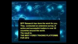 The Best Forex Trading Platforms of 2013
