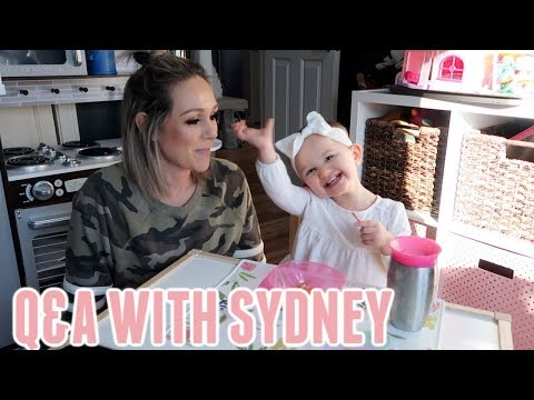 ADORABLE Q&A WITH A 2 YEAR OLD TODDLER| 2 YEAR OLD UPDATE| Tres Chic Mama
