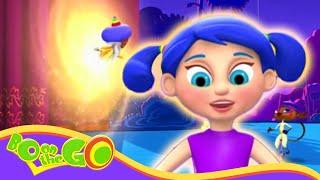 Bo Auf der GO! - Bo und das Gleichgewicht Beasty | Lustige Cartoons für Kinder