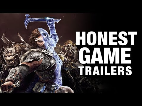 SHADOW OF WAR (Honest Game Trailers)