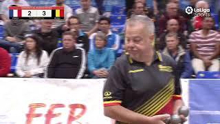 Championnat du Monde 2019 Individuel petanque France Belgique