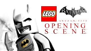Lego Batman: Arkham City - Opening Scene