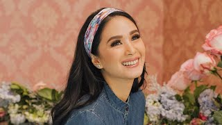 BEHIND THE SCENES OF MY KAMISETA SHOOT | Heart Evangelista
