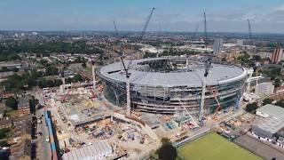 09/06/18 Tottenham Hotspur 360 Bird eye View