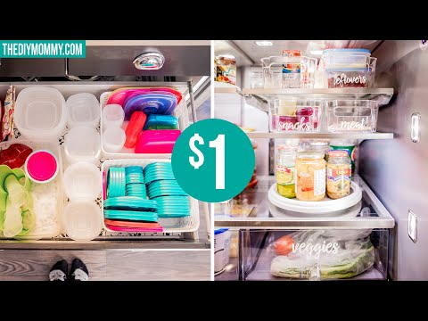 DOLLAR STORE KITCHEN ORGANIZATION | DIY & Decor Challenge