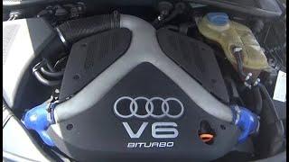 Первый осмотр после покупки Audi A6 C5 2.7 Biturbo куча косяков , дрова (((Группа ВКонтакте Audi http://vk.com/club113325799 ..., 2016-03-30T22:38:29.000Z)