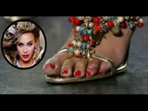My Top 5 Celebs With Ugly Feet.
