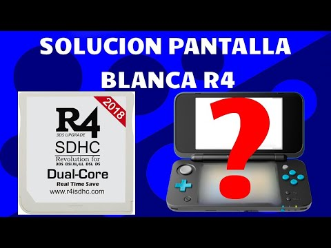 R4i dual core solucion pantalla en blanco | FunnyDog TV