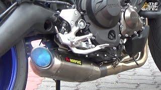 yamaha mt 09 akrapovic racing line titanium full system exhaust