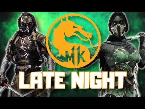 LATE NIGHT CHILL / MORTAL KOMBAT 11 / STORY MODE pt.2