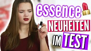 ESSENCE NEUHEITEN IM TEST! | Julia Beautx