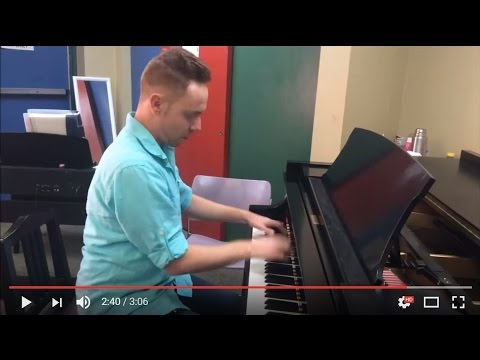 Instructor Matt Safley of Milder Musical Arts