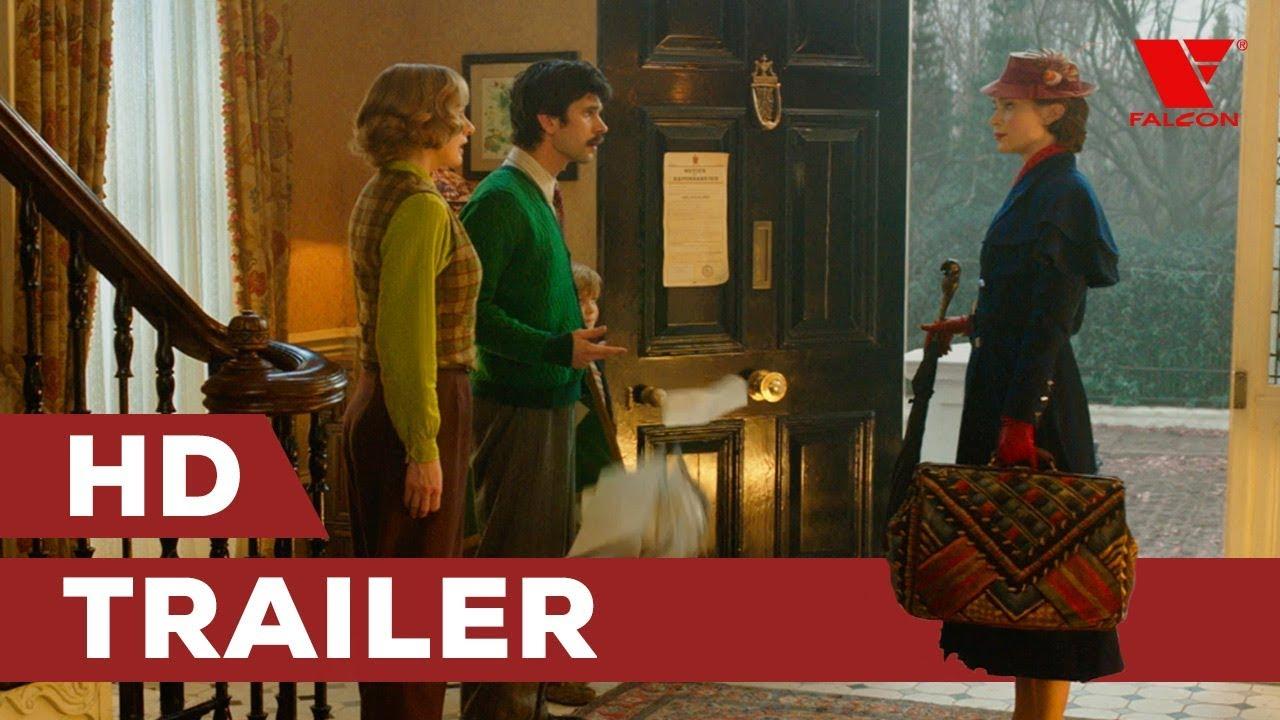 Mary Poppins se vrací (2018) HD trailer   CZ dabing