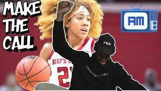 Arella Guirantes Rutgers Highlights Reaction | 2021 WNBA Draft Prospect Reaction