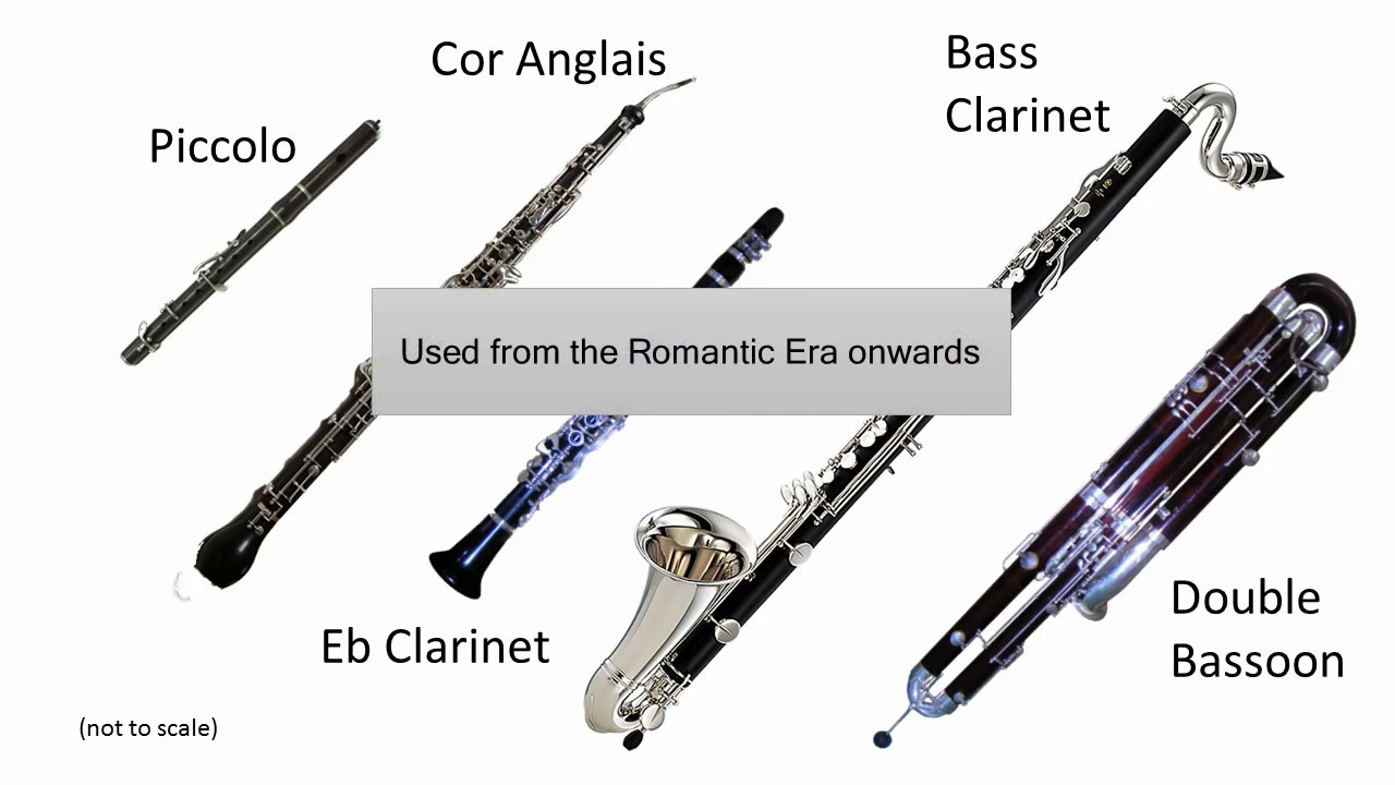 Grade 6 Music Theory General Knowledge: The Woodwind ... Woodwind Band Instruments