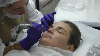Обучение перманентному макияжу Межресничка