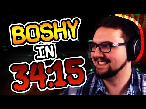 I Wanna Be The Boshy 2017 Any% Speedrun in 34:15 by witwix