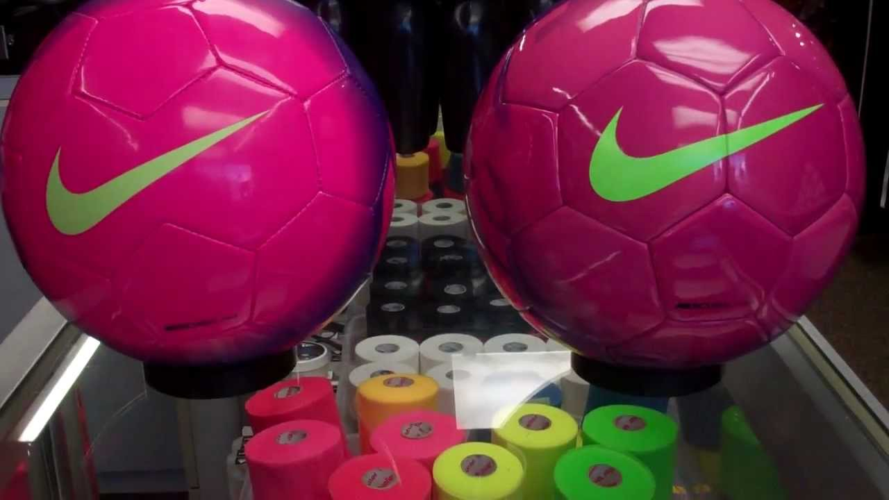 52bd2d75b Nike Mercurial Mach and Fade Ball Review (Purple Purple Green) - YouTube