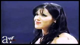 Chyna & Eddie Guerrero. - Hold on we're going home.