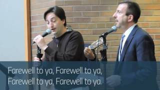 Retirement song for Professors Jon Entin, Erik Jensen, and Ken Margolis