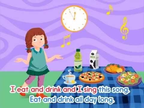 Eat and Drink All Day Long Song