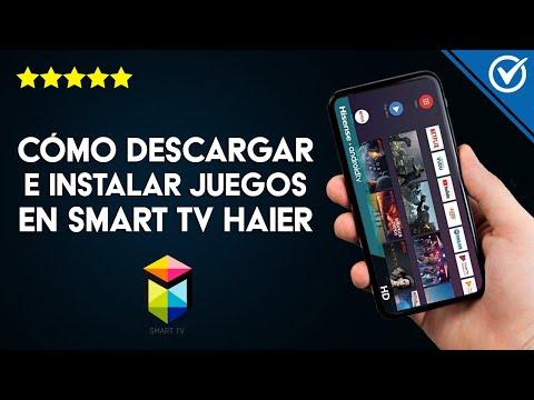Cómo Descargar e Instalar Aplicaciones y Juegos en Smart TV Haier