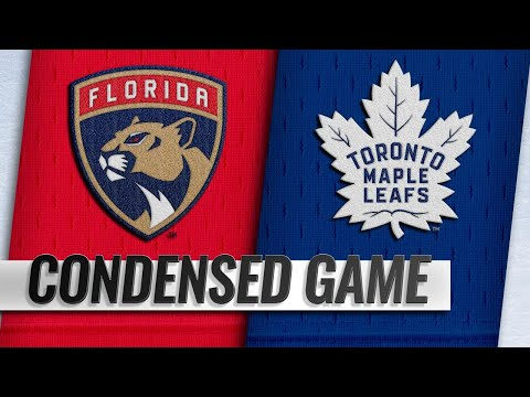 12/20/18 Condensed Game: Panthers @ Maple Leafs