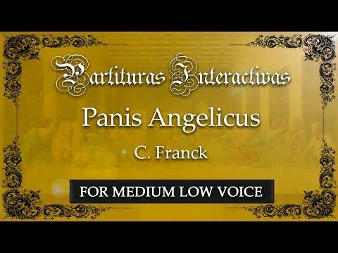 Panis Angelicus - C. Franck (Karaoke - Key: F major)