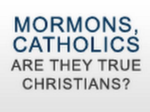 Image result for are mormons and catholics christians