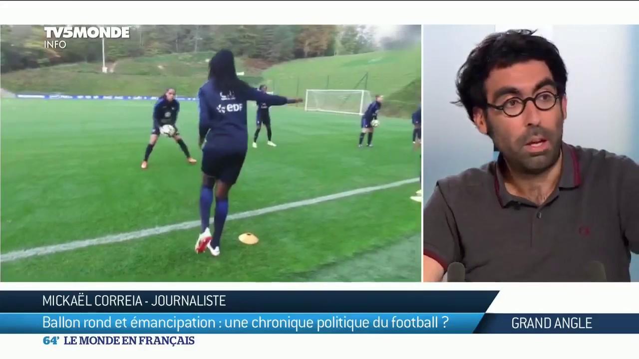 Mickael Correia Une Histoire Populaire Du Football Youtube