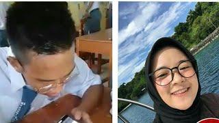 Aksi Lucu Seorang Anak Saat Download Lagu Nissa Sabyan Pakai Google Asistent