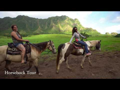 Scenic Valley Horseback Ride - Video