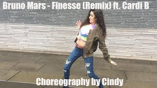 Bruno Mars - Finesse (Remix) [Feat. Cardi B] | [Official Dance Choreography] by Cindy