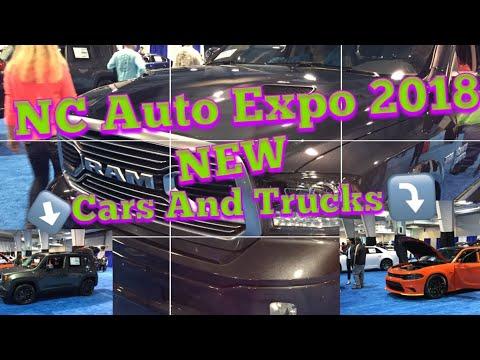 Nc Auto Expo 2018|short walk around|New Cars & Trucks|