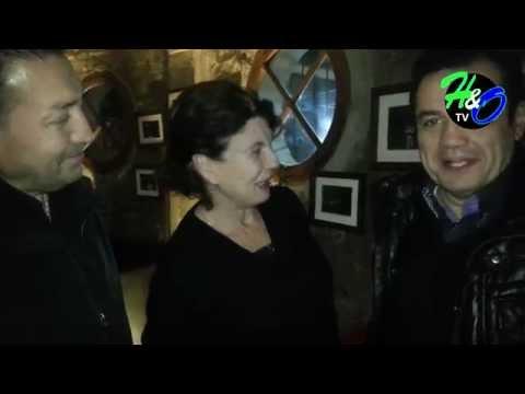 Cabaret Bijoux despedida de Santiago Chile 2015/ Emiliano con los famosos y su público