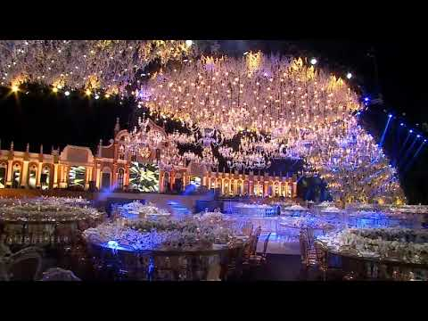 The most extravagant wedding you will ever see !. http://bit.ly/2XgLyGr