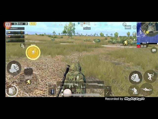Pubg mobile 21 kills Oneplus 6