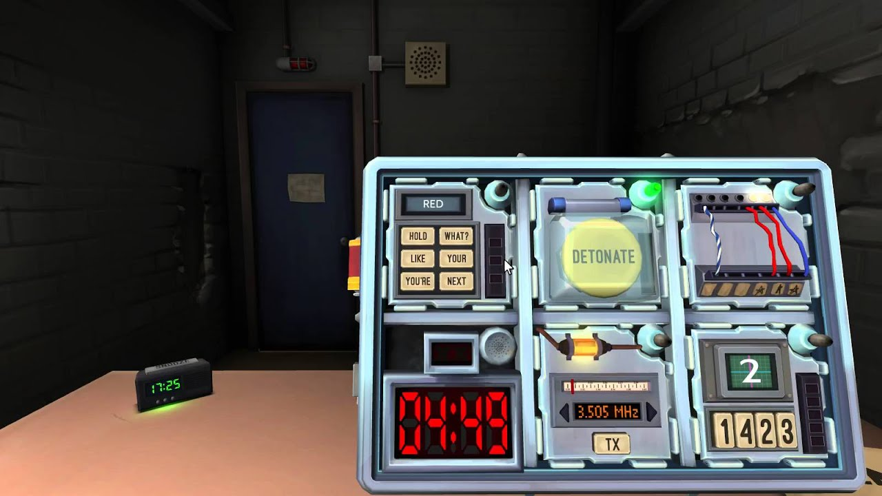 keep talking and nobody explodes manual french