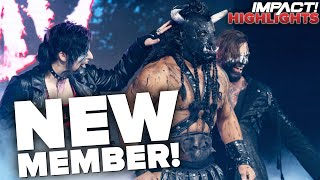 Decay Debuts NEWEST MEMBER: Black Taurus! | IMPACT! Highlights Feb 9, 2021
