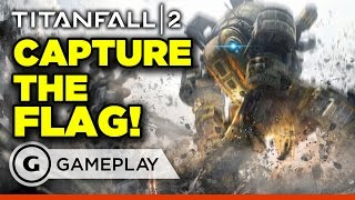 Full Match of Capture the Flag on Exoplanet - Titanfall 2 Gameplay