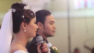 Sakramen Pernikahan Siska Radit