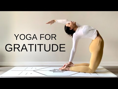 30 Minute Morning Yoga For Gratitude | Full Body Flow + Meditation